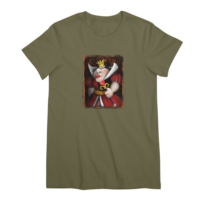 off with their heads! Women's Premium T-Shirt by the twisted world of godriguezart