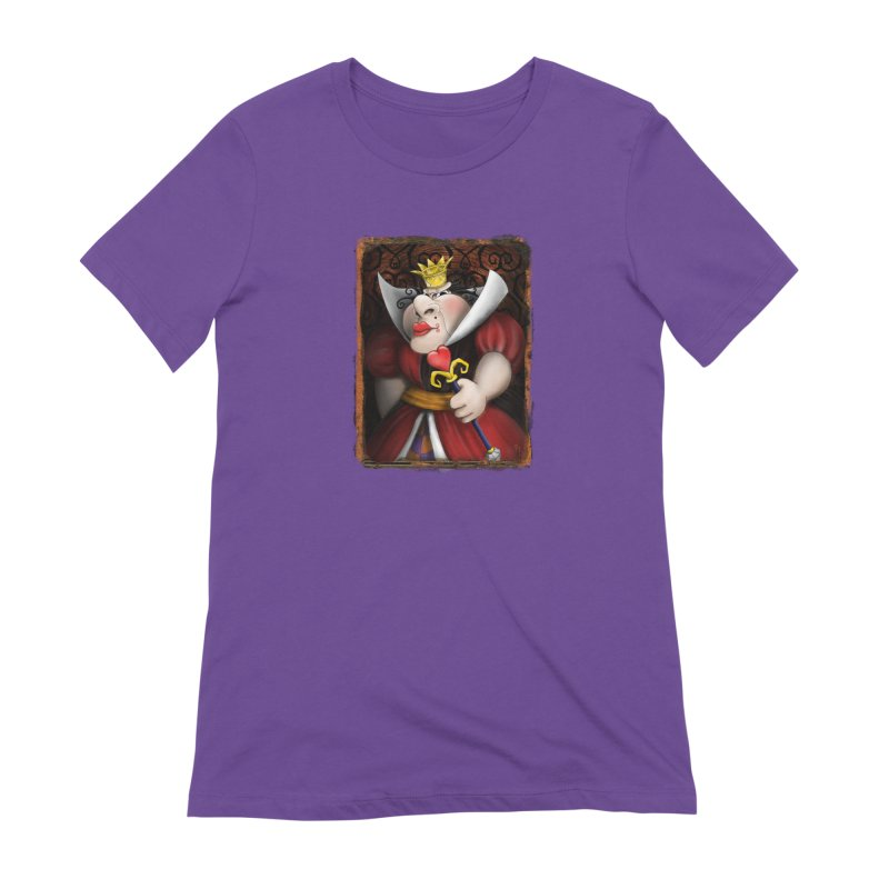 off with their heads! Women's Extra Soft T-Shirt by the twisted world of godriguezart