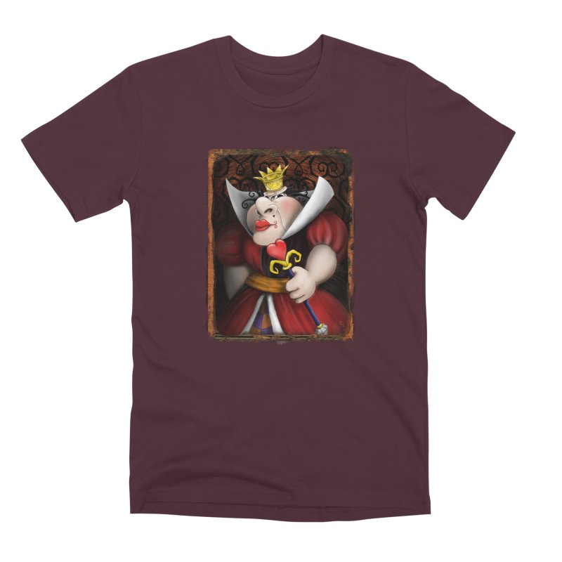 off with their heads! Men's Premium T-Shirt by the twisted world of godriguezart