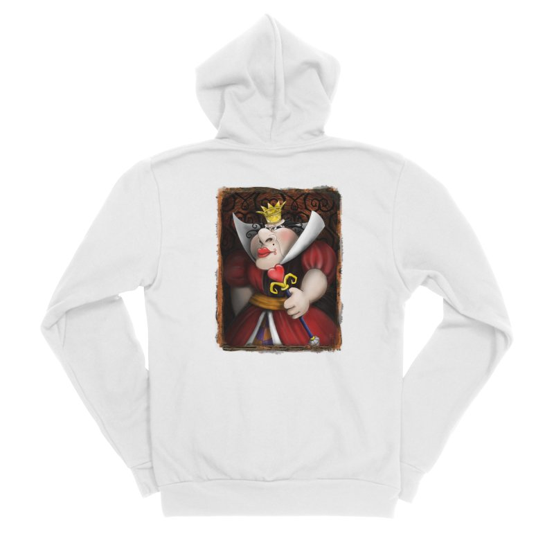 off with their heads! Men's Sponge Fleece Zip-Up Hoody by the twisted world of godriguezart