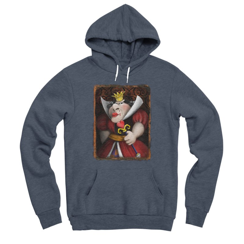 off with their heads! Men's Sponge Fleece Pullover Hoody by the twisted world of godriguezart