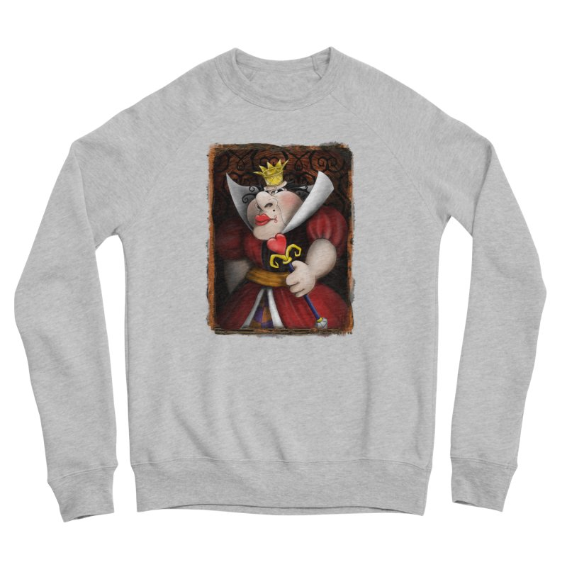 off with their heads! Women's Sponge Fleece Sweatshirt by the twisted world of godriguezart