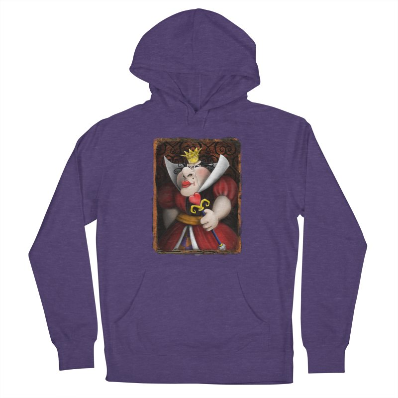 off with their heads! Women's French Terry Pullover Hoody by the twisted world of godriguezart