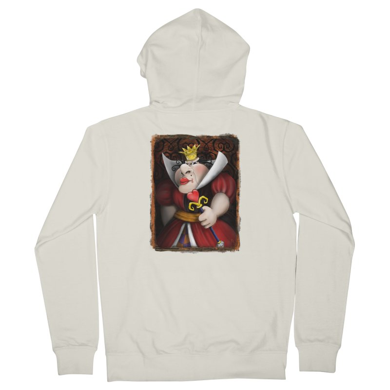 off with their heads! Women's French Terry Zip-Up Hoody by the twisted world of godriguezart