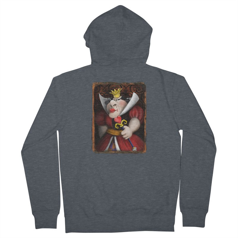 off with their heads! Men's French Terry Zip-Up Hoody by the twisted world of godriguezart