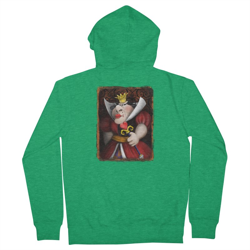 off with their heads! Men's Zip-Up Hoody by the twisted world of godriguezart
