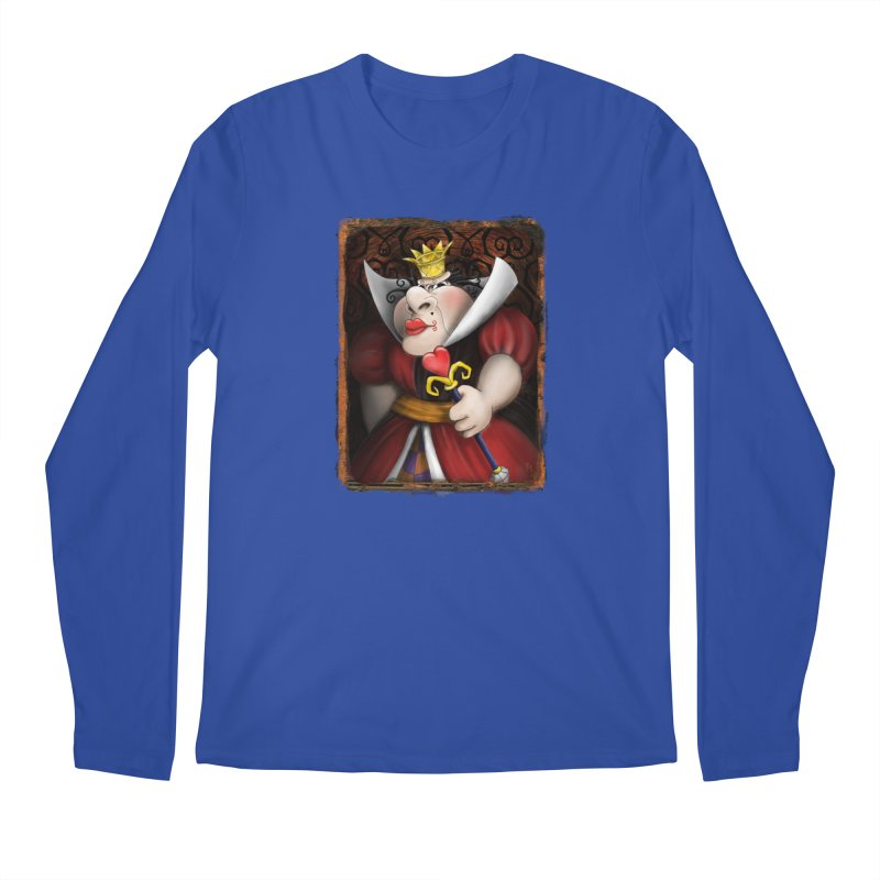 off with their heads! Men's Regular Longsleeve T-Shirt by the twisted world of godriguezart
