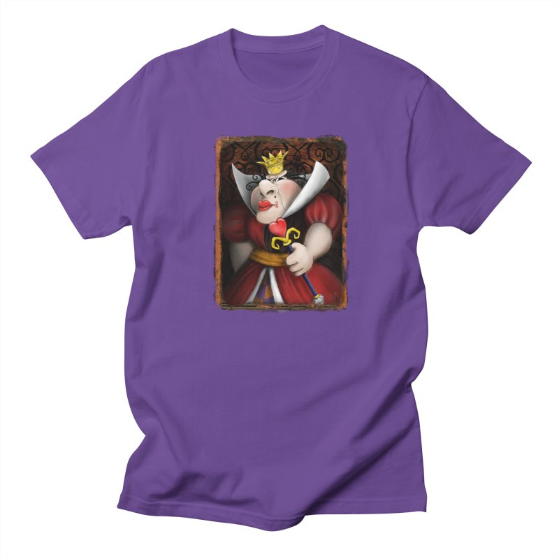 off with their heads! Men's Regular T-Shirt by the twisted world of godriguezart