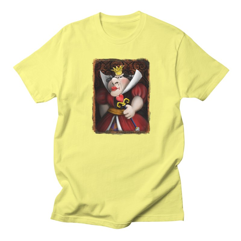 off with their heads! Men's T-Shirt by the twisted world of godriguezart