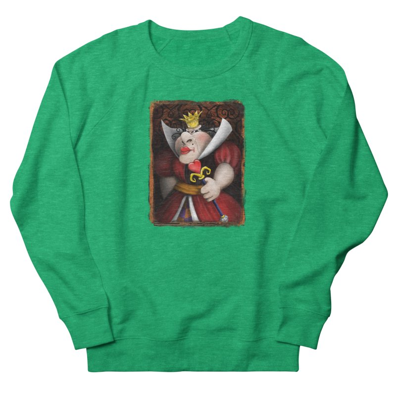 off with their heads! Women's Sweatshirt by the twisted world of godriguezart