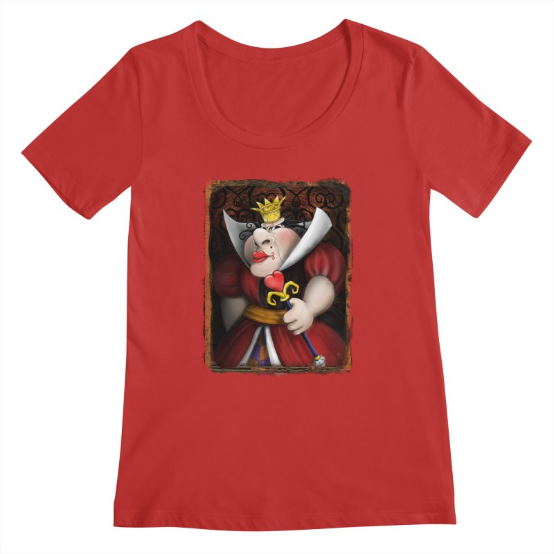 off with their heads! Women's Regular Scoop Neck by the twisted world of godriguezart