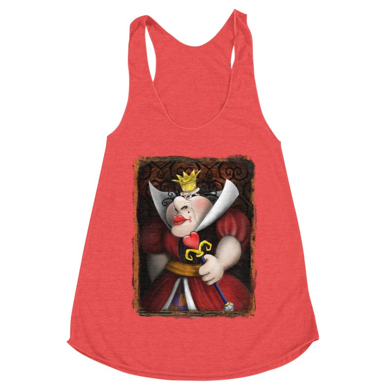 off with their heads! Women's Tank by the twisted world of godriguezart