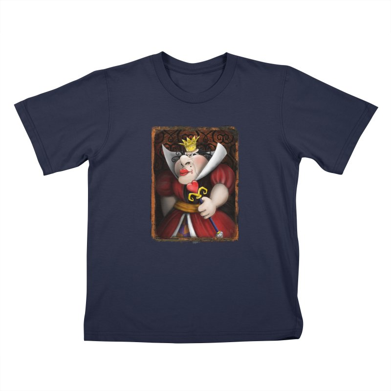off with their heads! Kids T-Shirt by the twisted world of godriguezart