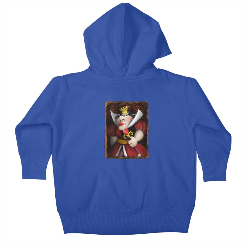 off with their heads! Kids Baby Zip-Up Hoody by the twisted world of godriguezart