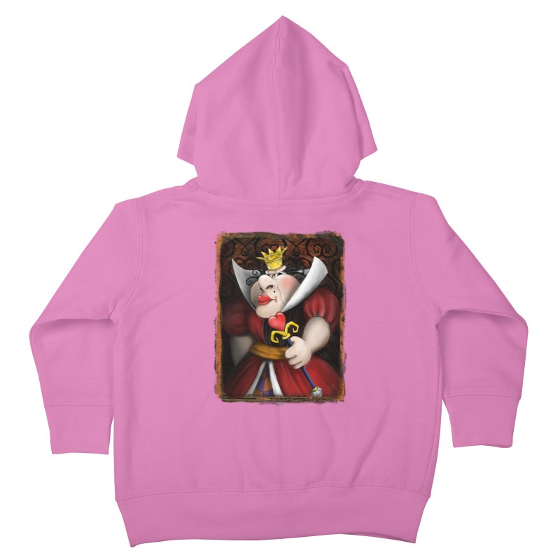 off with their heads! Kids Toddler Zip-Up Hoody by the twisted world of godriguezart