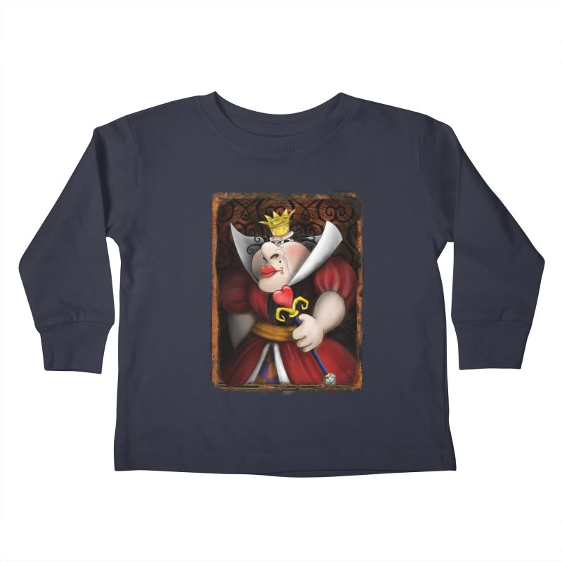 off with their heads! Kids Toddler Longsleeve T-Shirt by the twisted world of godriguezart