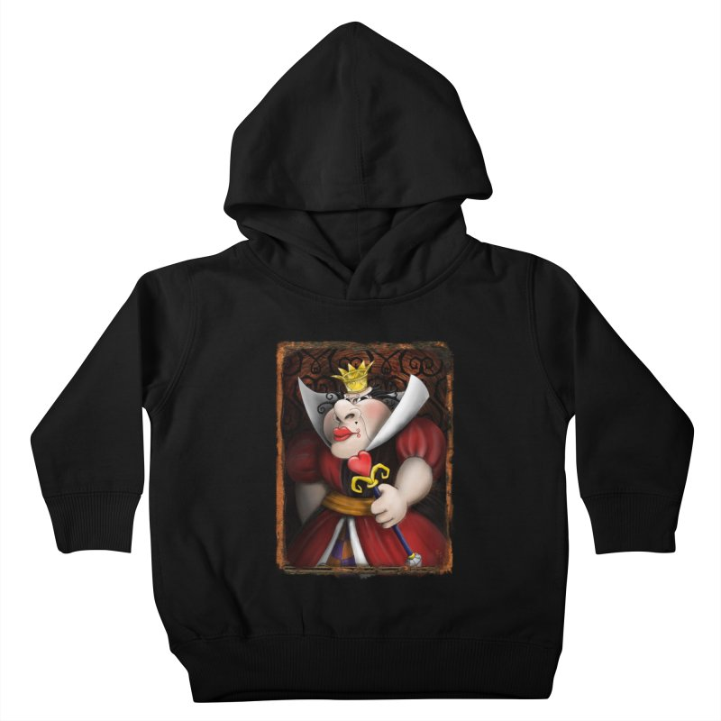 off with their heads! Kids Toddler Pullover Hoody by the twisted world of godriguezart