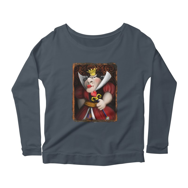 off with their heads! Women's Scoop Neck Longsleeve T-Shirt by the twisted world of godriguezart