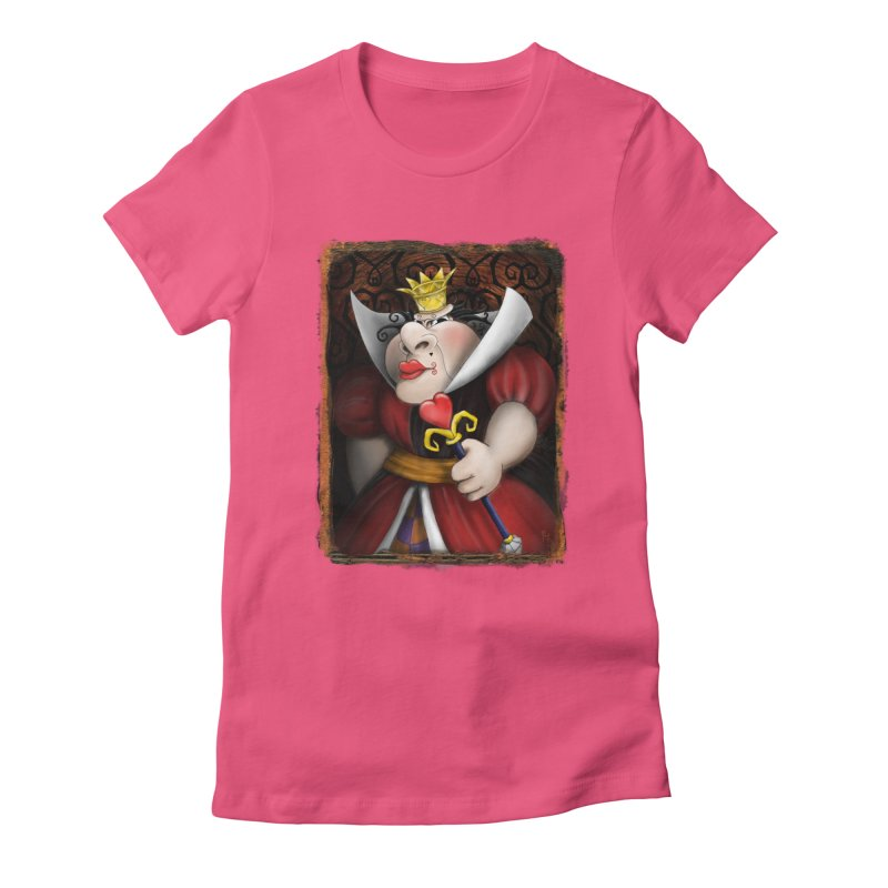 off with their heads! Women's Fitted T-Shirt by the twisted world of godriguezart