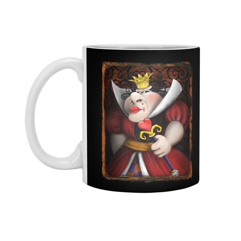 off with their heads! Accessories Mug by the twisted world of godriguezart