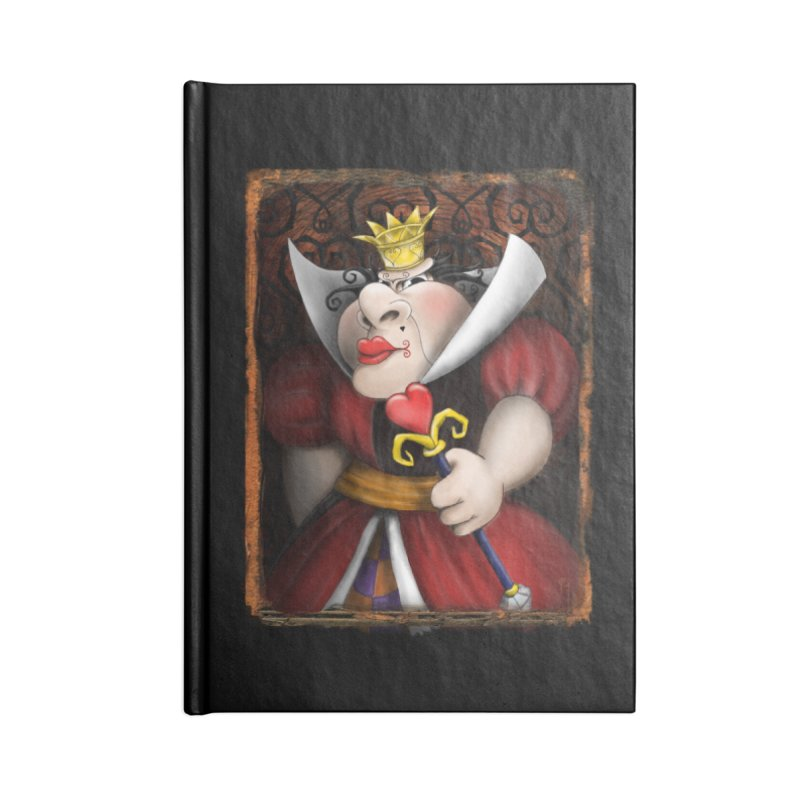 off with their heads! Accessories Notebook by the twisted world of godriguezart