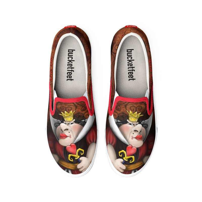 off with their heads! Women's Shoes by the twisted world of godriguezart