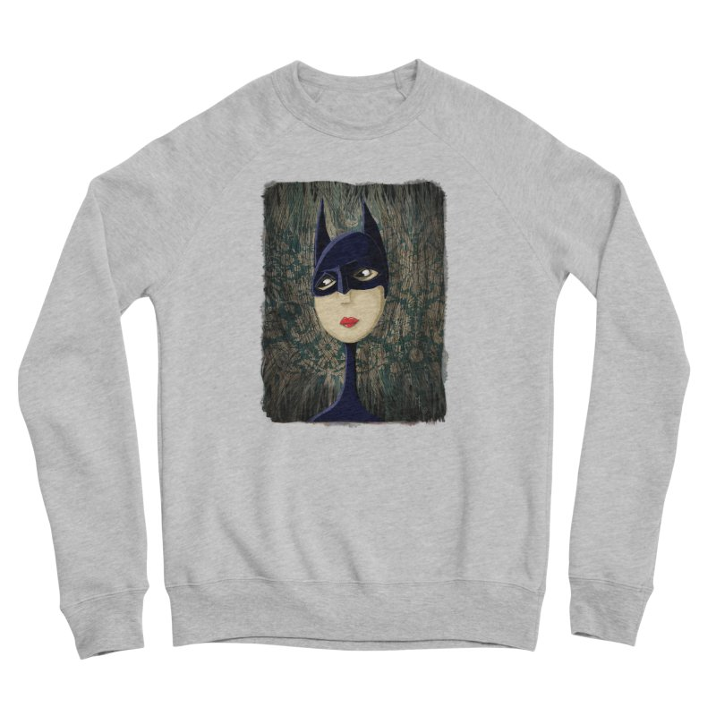 i'm batty Women's Sponge Fleece Sweatshirt by the twisted world of godriguezart