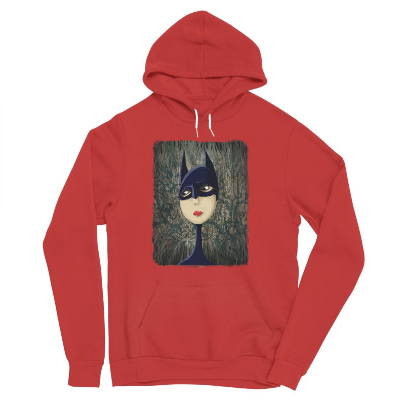 i'm batty Women's Sponge Fleece Pullover Hoody by the twisted world of godriguezart