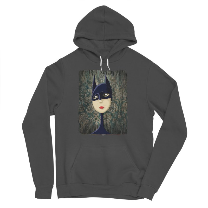 i'm batty Men's Sponge Fleece Pullover Hoody by the twisted world of godriguezart