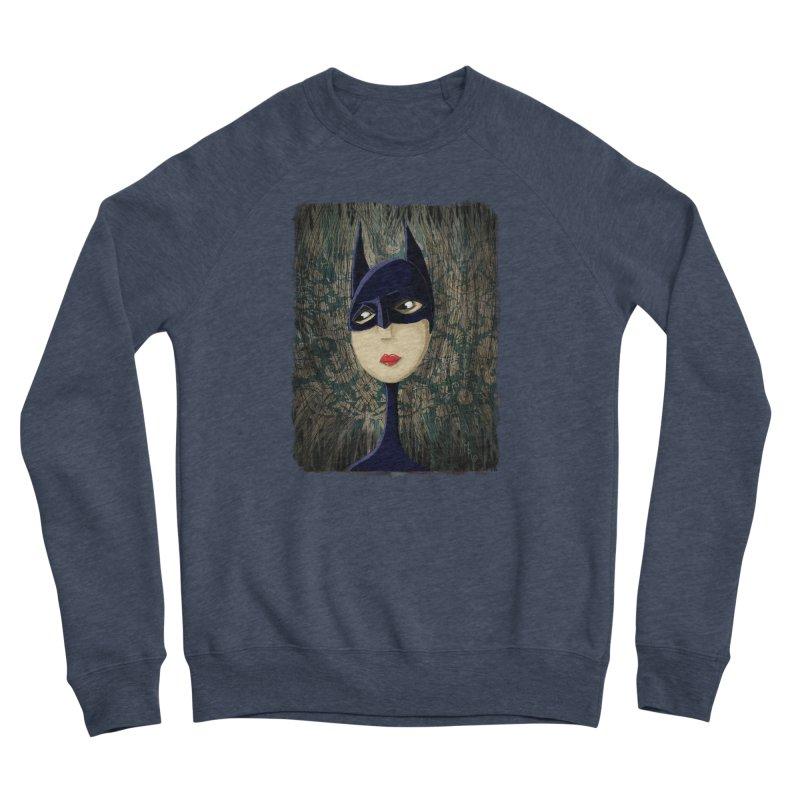 i'm batty Men's Sponge Fleece Sweatshirt by the twisted world of godriguezart