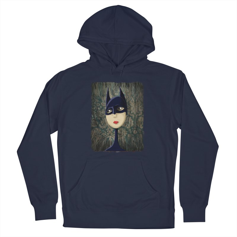 i'm batty Women's French Terry Pullover Hoody by the twisted world of godriguezart