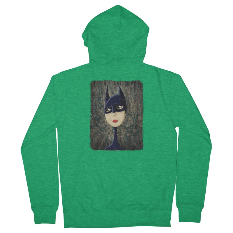 i'm batty Men's Zip-Up Hoody by the twisted world of godriguezart