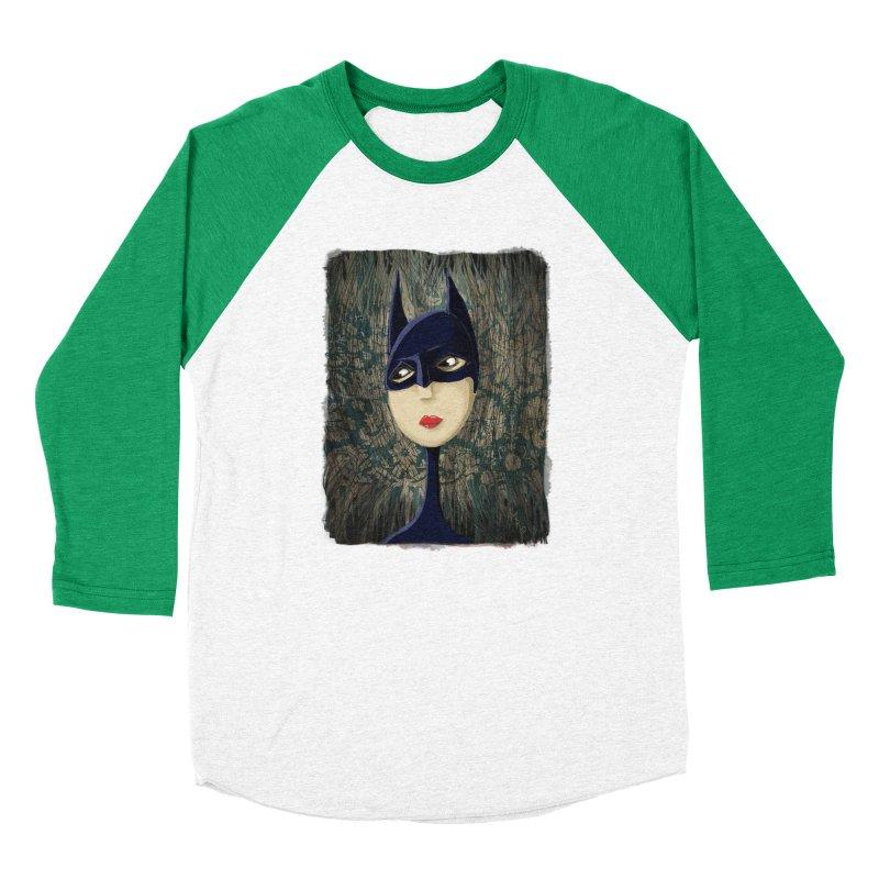 i'm batty Women's Baseball Triblend Longsleeve T-Shirt by the twisted world of godriguezart