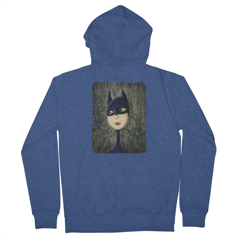 i'm batty Women's French Terry Zip-Up Hoody by the twisted world of godriguezart