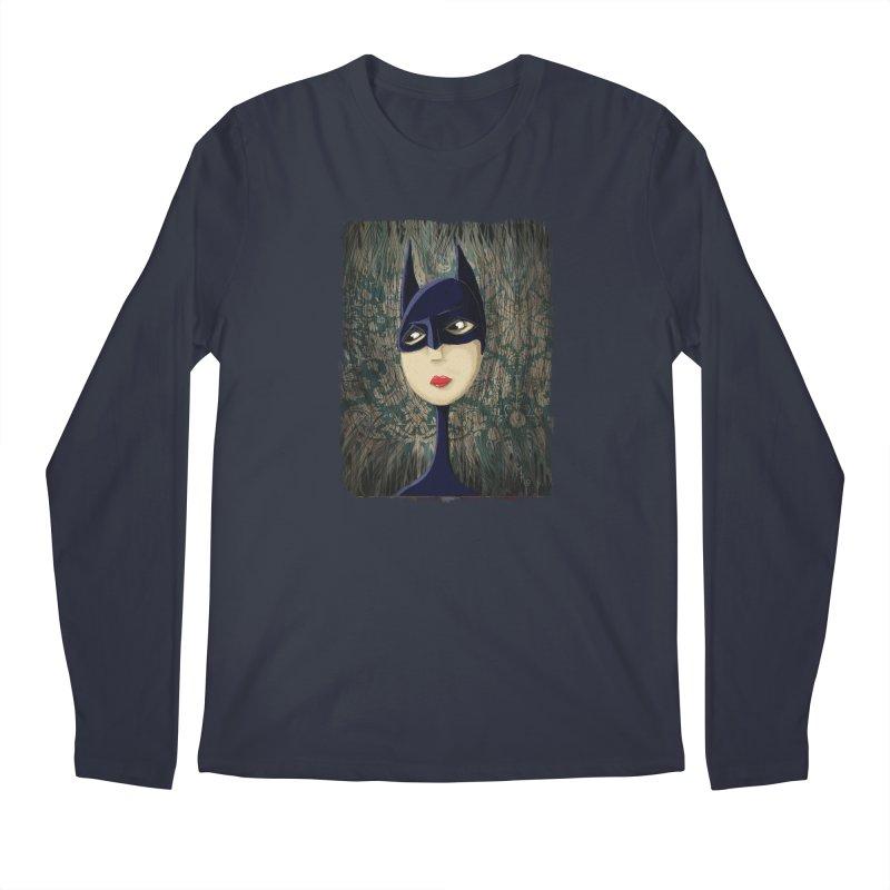 i'm batty Men's Regular Longsleeve T-Shirt by the twisted world of godriguezart