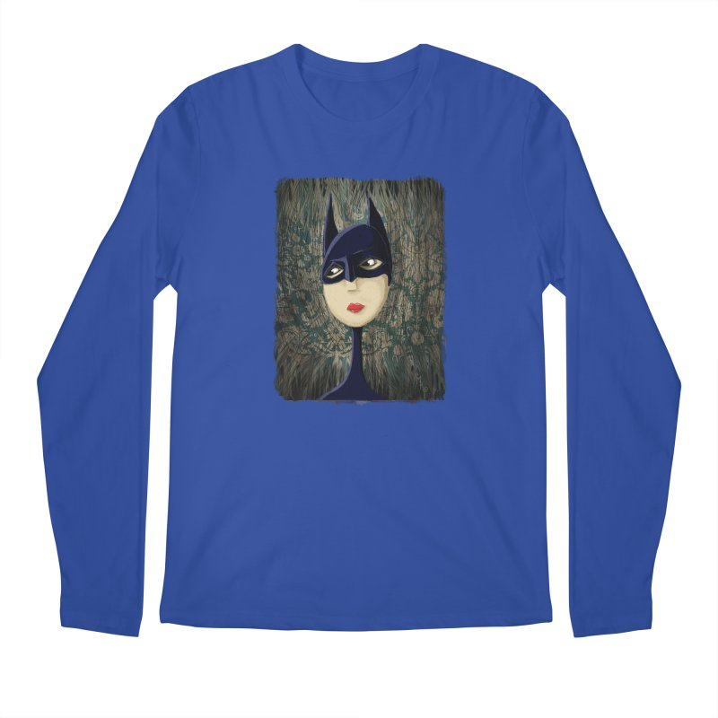 i'm batty Men's Regular Longsleeve T-Shirt by the twisted world of godriguezart