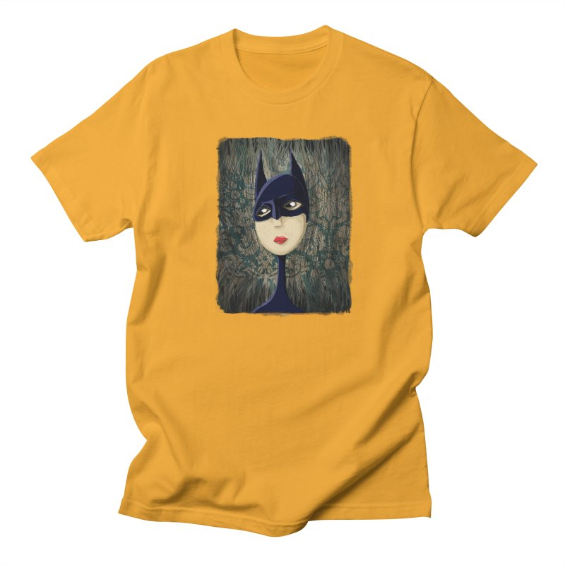 i'm batty Men's Regular T-Shirt by the twisted world of godriguezart