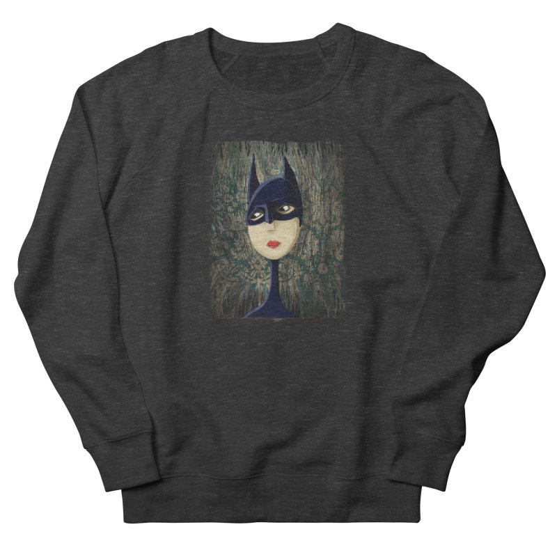 i'm batty Women's French Terry Sweatshirt by the twisted world of godriguezart