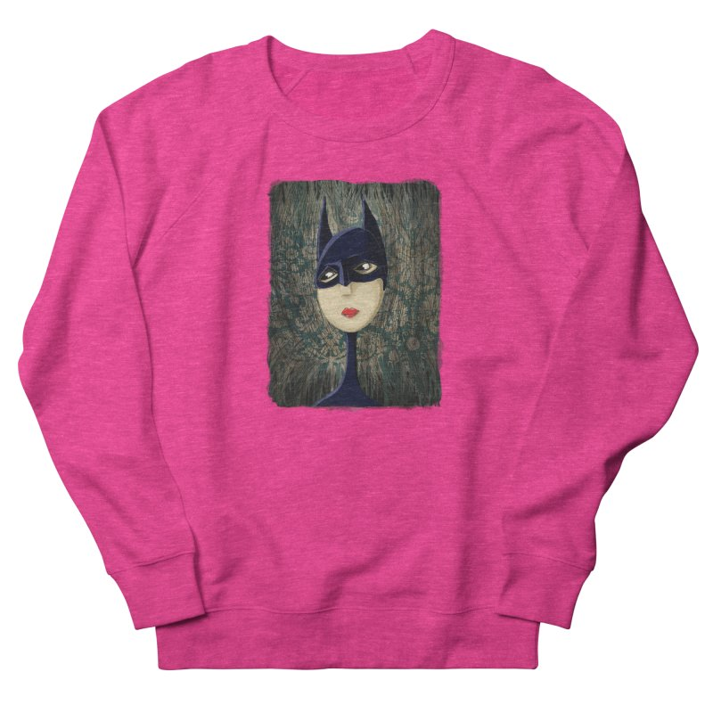 i'm batty Men's French Terry Sweatshirt by the twisted world of godriguezart