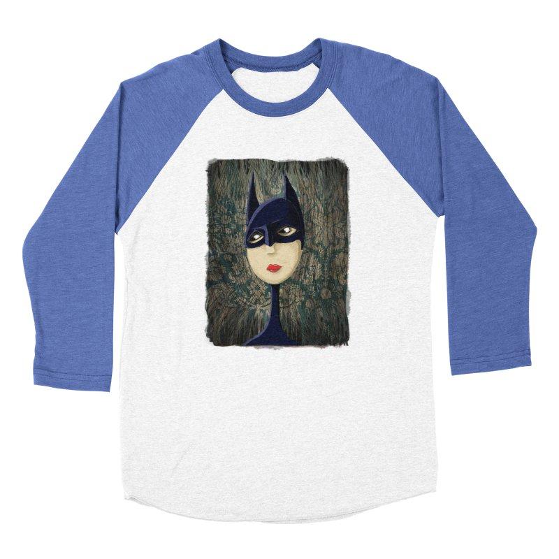 i'm batty Men's Baseball Triblend Longsleeve T-Shirt by the twisted world of godriguezart