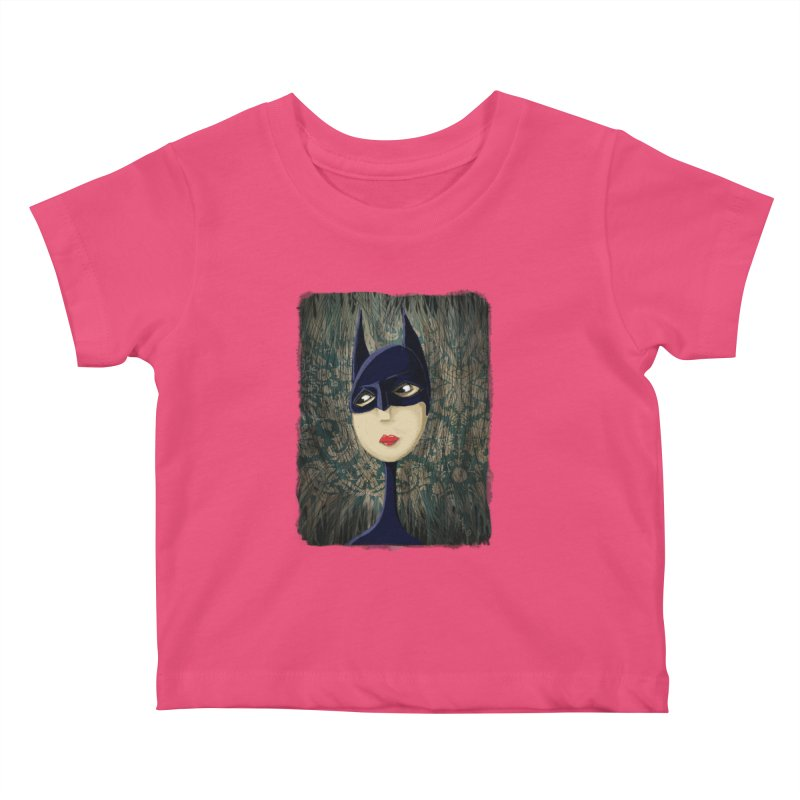 i'm batty Kids Baby T-Shirt by the twisted world of godriguezart