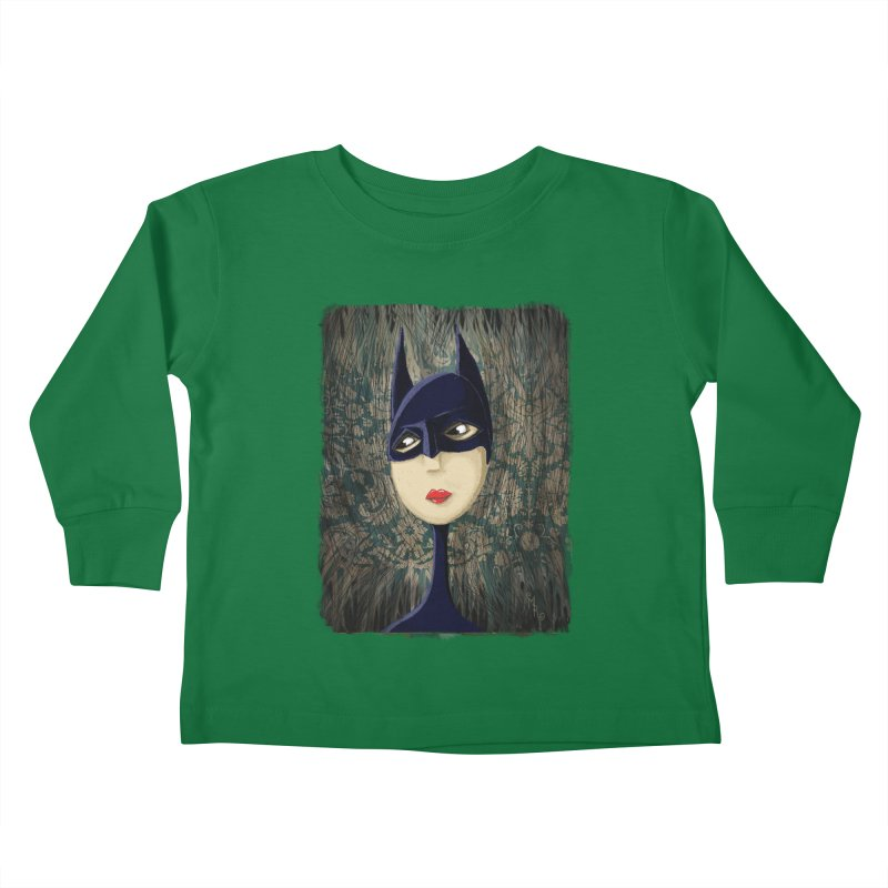 i'm batty Kids Toddler Longsleeve T-Shirt by the twisted world of godriguezart