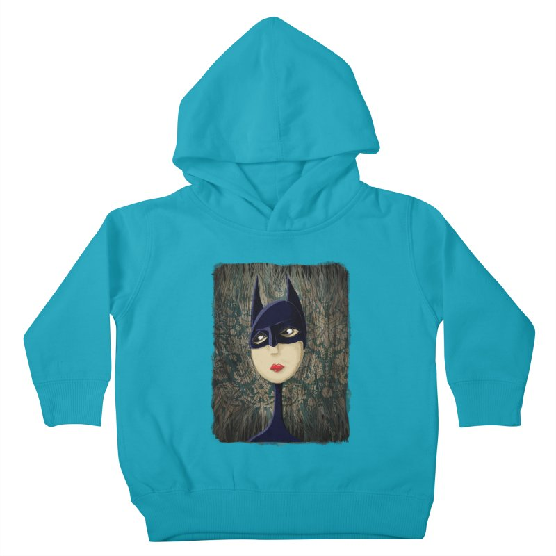 i'm batty Kids Toddler Pullover Hoody by the twisted world of godriguezart