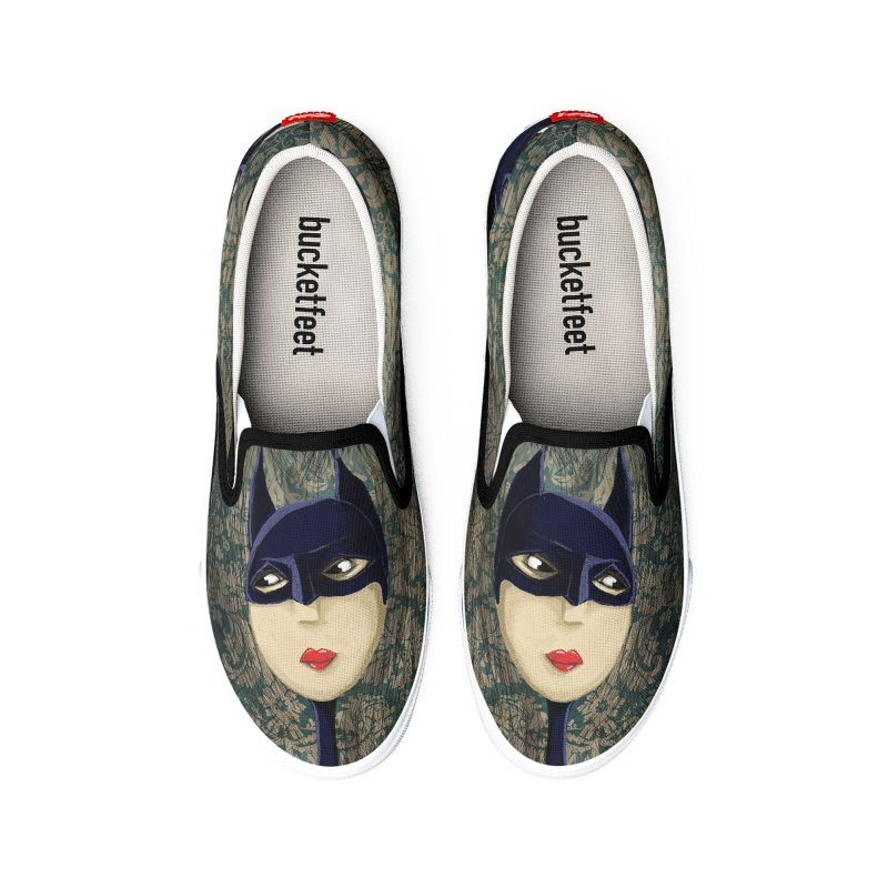 i'm batty Men's Shoes by the twisted world of godriguezart