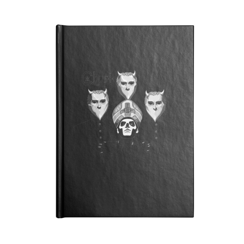 bohemian ritual Accessories Lined Journal Notebook by the twisted world of godriguezart
