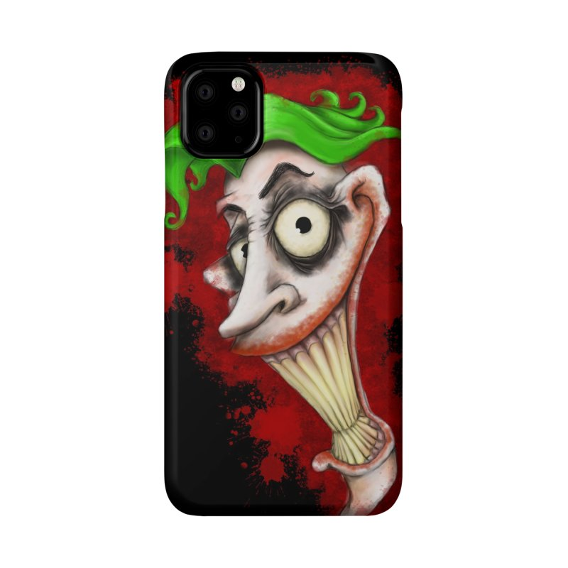 joke's on you - joker - batman Accessories Phone Case by the twisted world of godriguezart