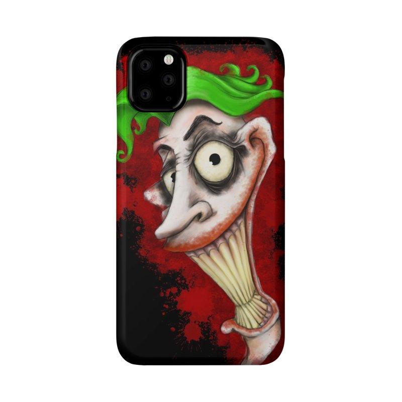 joke's on you - joker - batman Accessories Phone Case by the twisted world of godriguezart