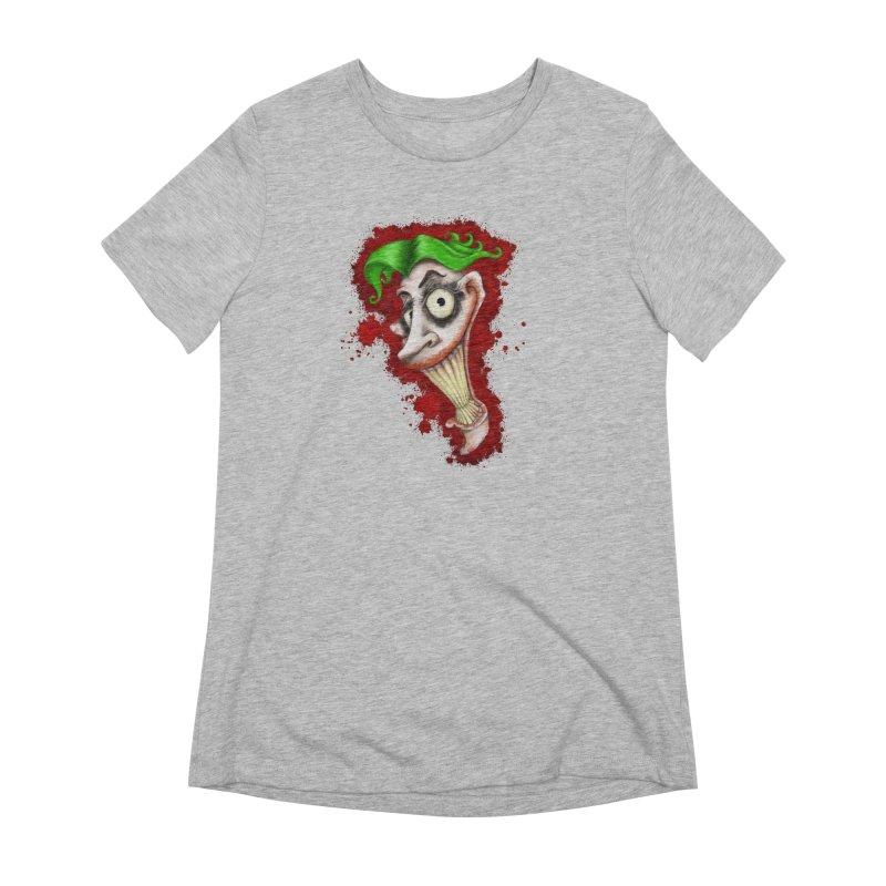 joke's on you - joker - batman Women's Extra Soft T-Shirt by the twisted world of godriguezart