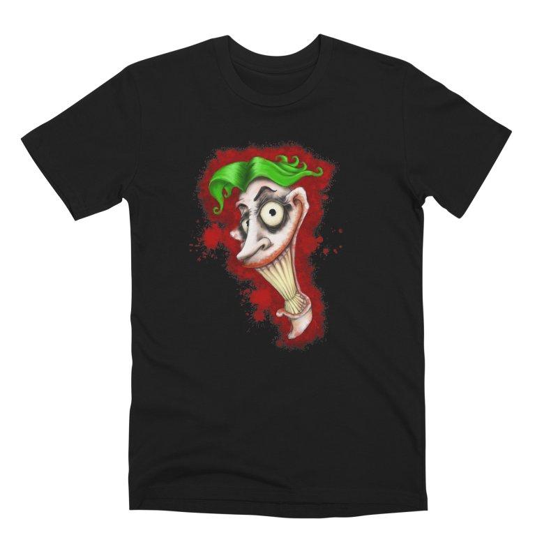 joke's on you - joker - batman Men's Premium T-Shirt by the twisted world of godriguezart