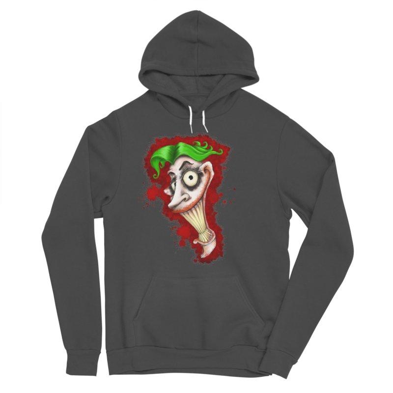 joke's on you - joker - batman Women's Sponge Fleece Pullover Hoody by the twisted world of godriguezart